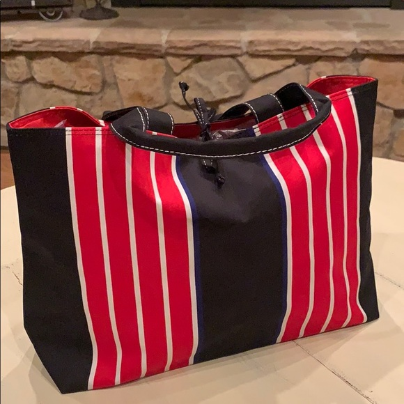 Handbags - Canvas lined tote bag NWOT